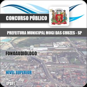 Apostila Concurso Mogi das Cruzes SP 2020 Fonoaudiólogo