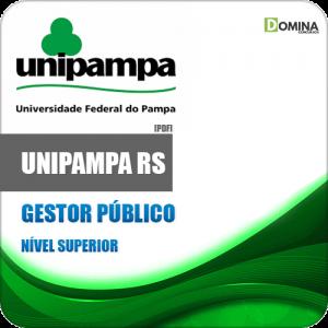 Apostila Concurso Público UNIPAMPA RS 2020 Gestor Público
