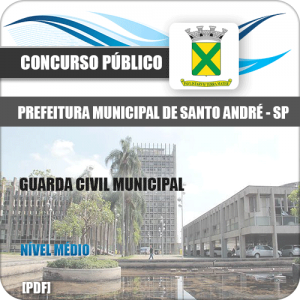 Apostila Pref Santo André SP 2020 Guarda Civil Municipal