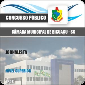 Apostila Concurso Câmara Biguaçu SC 2020 Jornalista