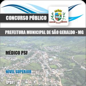 Apostila Concurso São Geraldo MG 2020 Médico PSF