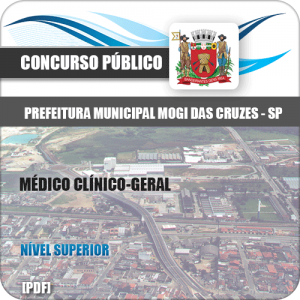 Apostila Concurso Mogi das Cruzes SP 2020 Médico Clínico Geral