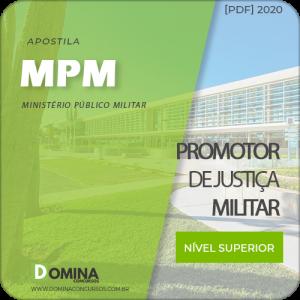 Capa MPM 2020 Promotor de Justiça Militar