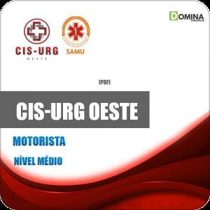 Apostila Concurso CIS URG SAMU Oeste MG 2020 Motorista