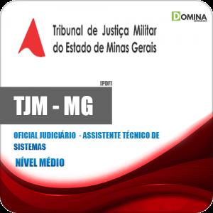 Apostila TJM MG 2020 Oficial Judiciário Assistente Técnico Sistemas