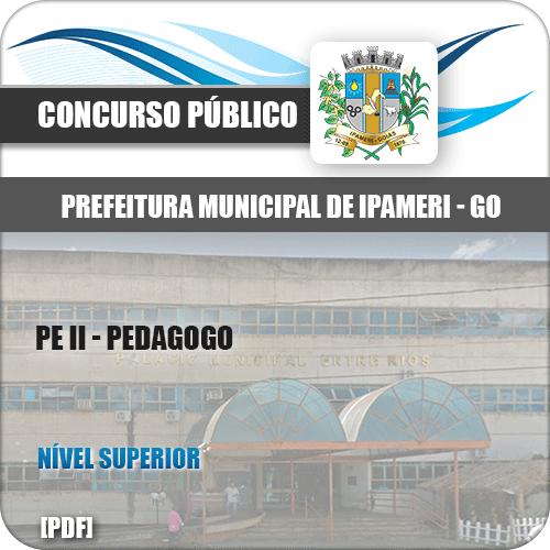 Apostila Concurso Público Pref Ipameri GO 2020 PE II Pedagogo