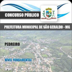 Apostila Concurso Pref São Geraldo MG 2020 Pedreiro