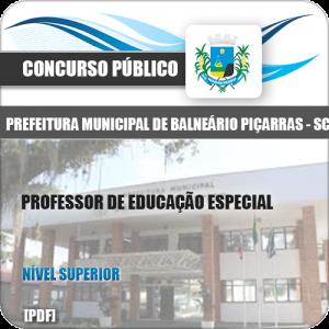Apostila Balneário Piçarras SC 2020 Professor Educação Especial