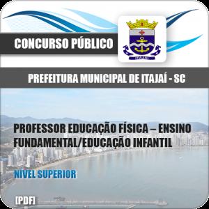 Apostila Pref Itajaí SC 2020 Professor de Educação Infantil