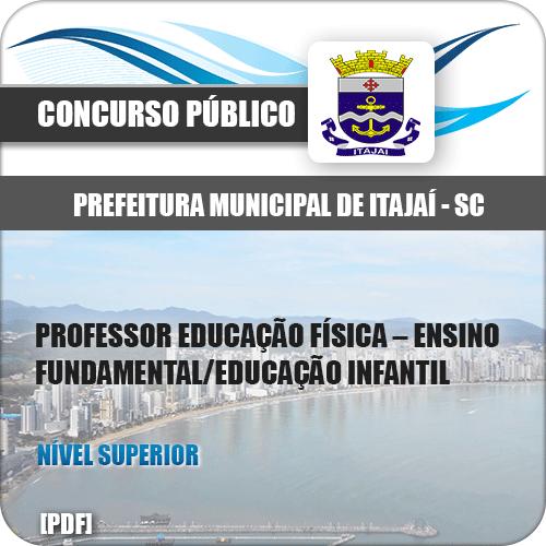 Apostila Pref Itajaí SC 2020 Professor de Educação Física