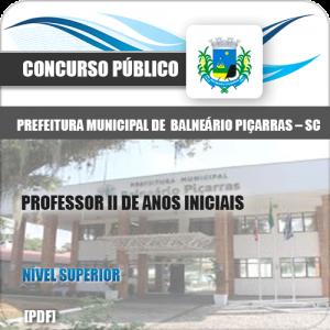 Apostila Balneário Piçarras SC 2020 Professor Anos Iniciais
