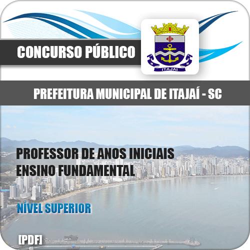 Apostila Prefeitura Itajaí SC 2020 Professor Anos Iniciais