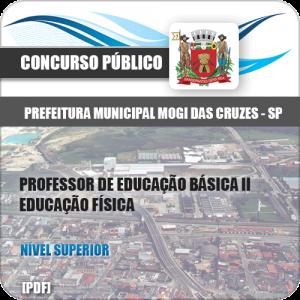 Apostila Mogi das Cruzes SP 2020 PEB II Educação Física
