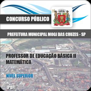 Apostila Concurso Mogi das Cruzes SP 2020 PEB II Matemática