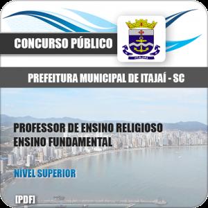 Apostila Pref Itajaí SC 2020 Professor de Ensino Religioso