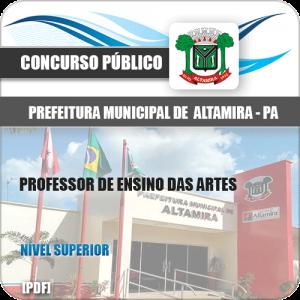 Apostila Pref Altamira PA 2020 Professor de Ensino das Artes