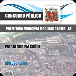Apostila Pref Mogi das Cruzes SP 2020 Psicólogo em Saúde