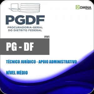 Apostila PG DF 2020 Técnico Judiciário Apoio Administrativo