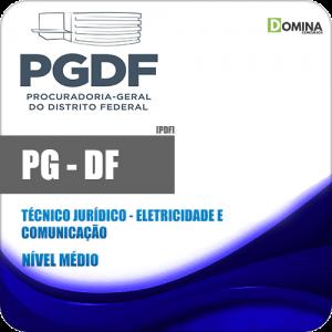 Apostila PG DF 2020 Técnico Jurídico Eletricidade e Comunicação