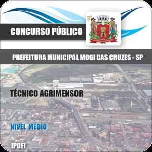 Apostila Pref Mogi das Cruzes SP 2020 Técnico Agrimensor