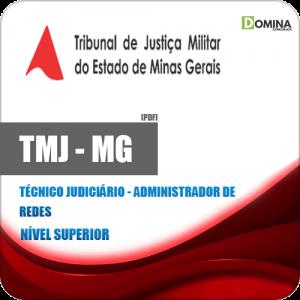 Apostila TMJ MG 2020 Técnico Judiciário Administrador Redes