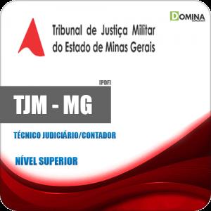 Apostila Concurso TJM MG 2020 Técnico Judiciário Contador