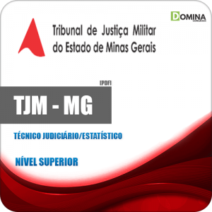 Apostila Concurso TJM MG 2020 Técnico Judiciário Estatístico