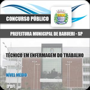 Apostila Barueri SP 2020 Técnico em Enfermagem do Trabalho