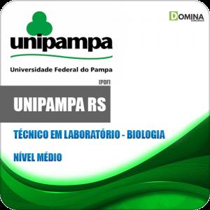 Apostila Concurso UNIPAMPA RS 2020 Técnico em Laboratório Biologia