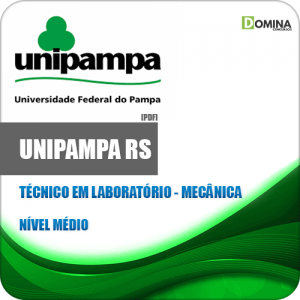 Apostila Concurso UNIPAMPA RS 2020 Técnico em Laboratório Mecânica