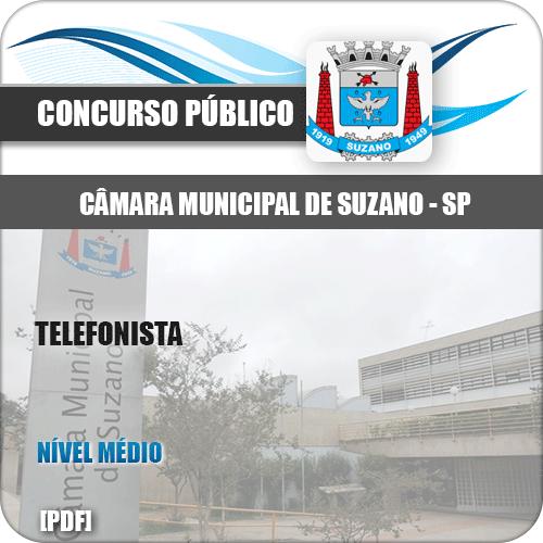 Apostila Concurso Câmara Suzano SP 2020 Telefonista