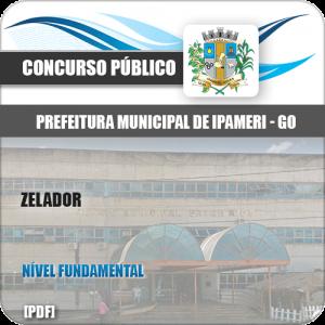 Apostila Concurso Público Pref Ipameri GO 2020 Zelador