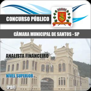 Apostila Concurso Câmara Santos 2020 Analista Financeiro