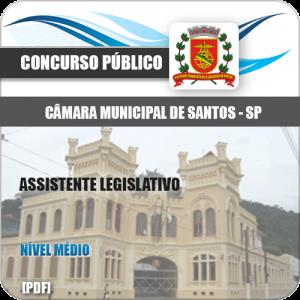 Apostila Câmara de Santos 2020 Assistente Legislativo