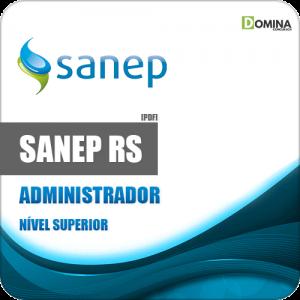Apostila Concurso Sanep Pelotas RS 2020 Administrador