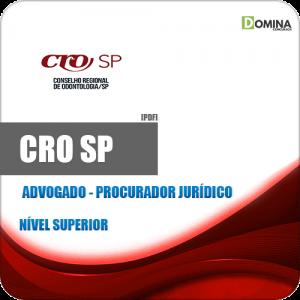 Capa CRO SP 2020 Advogado Procurador Jur.