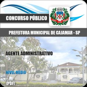 Apostila Prefeitura Cajamar SP 2020 Agente Administrativo