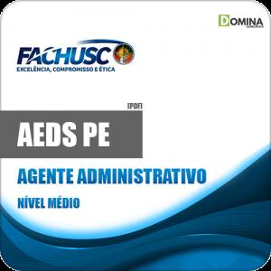 Apostila Concurso AEDS PE 2020 Agente Administrativo