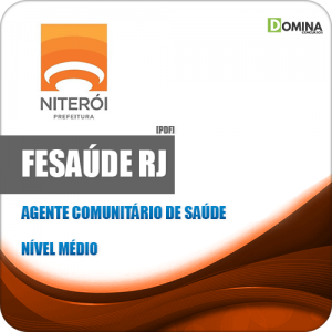 Apostila FeSaúde RJ 2020 Agente Comunitário de Saúde