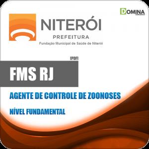 Apostila FMS Niterói RJ 2020 Agente Controle de Zoonoses