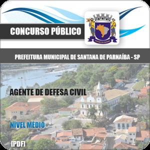 Apostila Santana de Parnaíba SP 2020 Agente de Defesa Civil