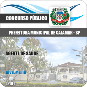 Apostila Prefeitura Cajamar SP 2020 Agente de Saúde