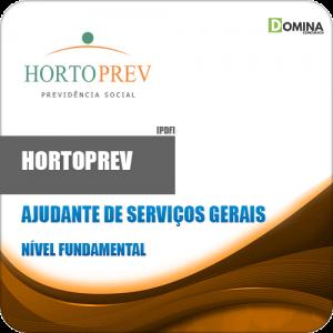 Apostila Concurso HORTOPREV 2020 Ajudante de Serviços Gerais
