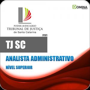Apostila Concurso TJ SC 2020 Analista Administrativo