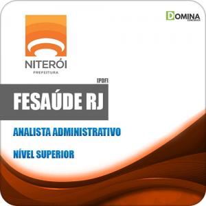 Apostila FeSaúde Niterói RJ 2020 Analista Administrativo