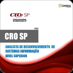 Capa CRO SP 2020 Analista Sistemas de Informação