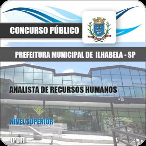 Apostila Ilhabela SP 2020 Analista de Recursos Humanos