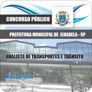 Apostila Ilhabela SP 2020 Analista de Transportes e Trânsito