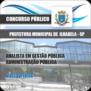 Apostila Pref Ilhabela 2020 Analista Administração Pública