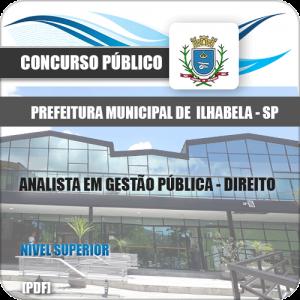 Apostila Ilhabela 2020 Analista em Gestão Pública Direito